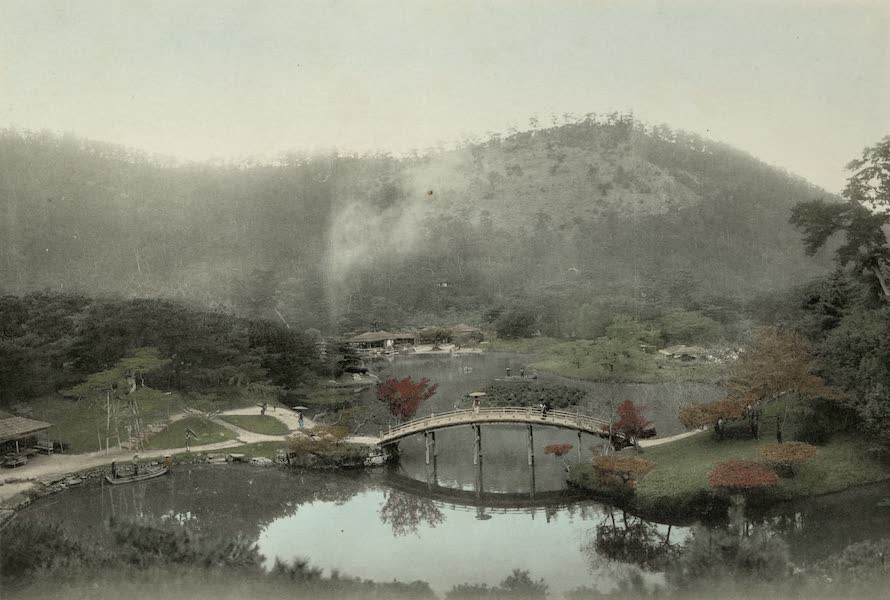 Sights and Scenes in Fair Japan - A Typical Landscape Garden (1910)