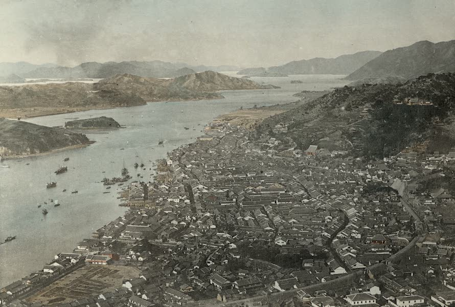 Sights and Scenes in Fair Japan - A Peep of the Inland Sea near Onomichi (1910)