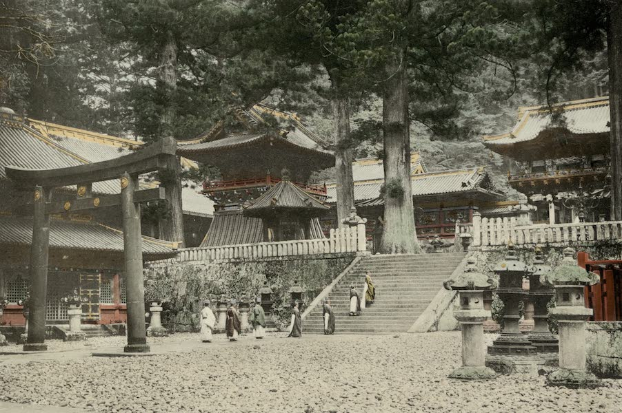 Sights and Scenes in Fair Japan - In the Grounds of the Nikko Temples (1910)