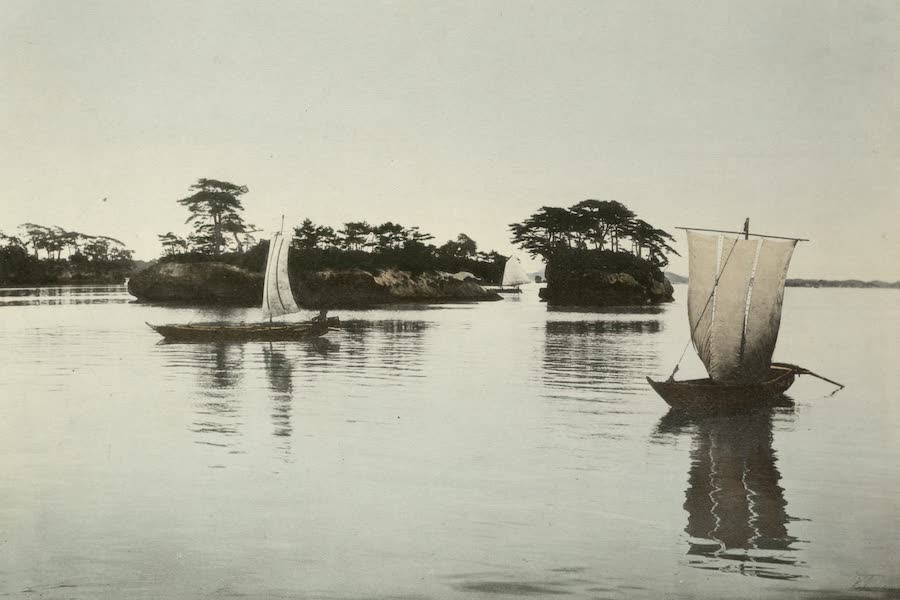 Sights and Scenes in Fair Japan - Matsushima - A Land Locked Bay Studded with Hundreds of Pine Clad Islets (1910)