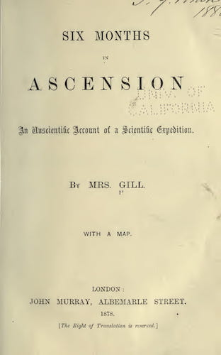 California Digital Library - Six Months in Ascension