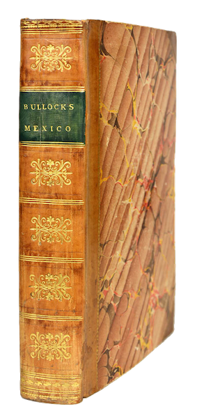 Six Months Residence and Travels in Mexico - Book Display (1824)