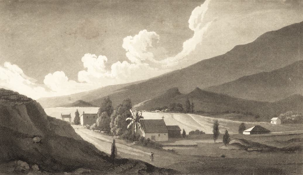 Six Months Residence and Travels in Mexico - [Untitled View] (1824)