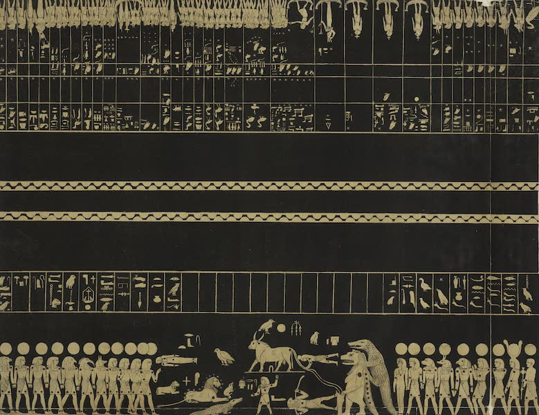 Six New Plates Illustrative of the Researches and Operations - Zodiak from the tomb of Psammis [Psammetichus] in Thebes (1822)