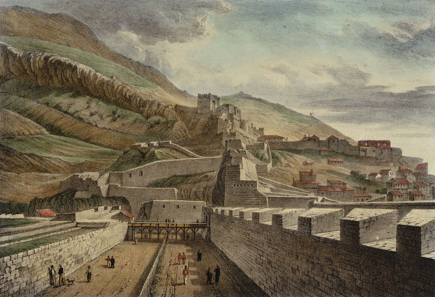 Six Views of Gibraltar - Gibraltar. From the North Bastion (1828)