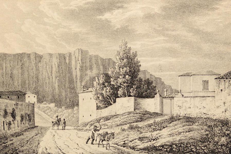 Six Views of Gibraltar and its Neighbourhood - Wind Mill Hill, Gibraltar (1825)