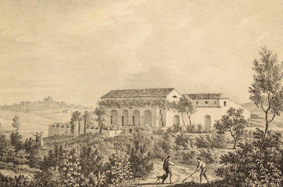 Six Views of Gibraltar and its Neighbourhood - Santa Martha Town (1825)