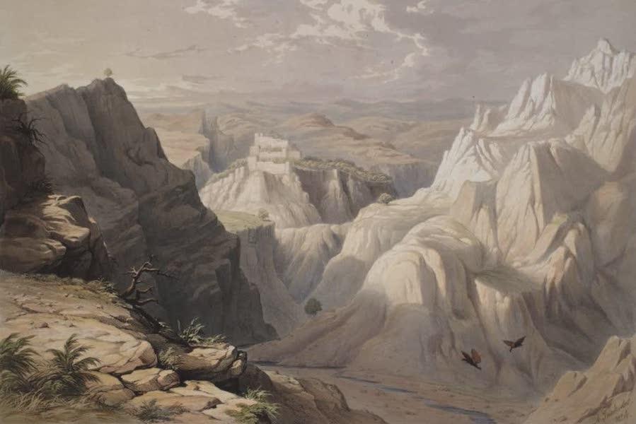 Six Views of Kot Kangra and the Surrounding Country - View of the mountains round Kot Kangra (1847)