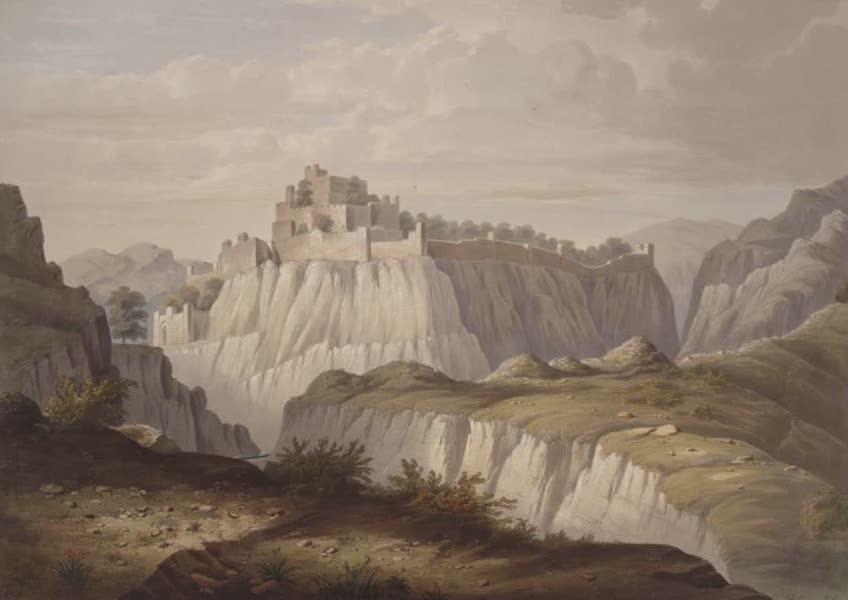 Six Views of Kot Kangra and the Surrounding Country - Fortress of Kot Kandra (1847)
