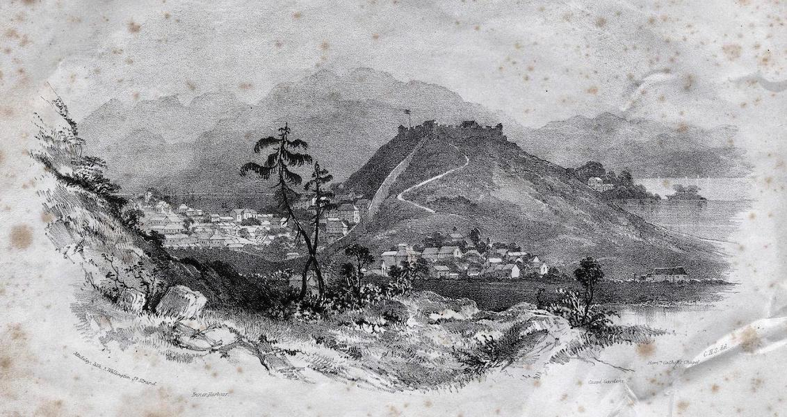Six Views of Singapore and Macao - Macao and the Monte Fort (1840)