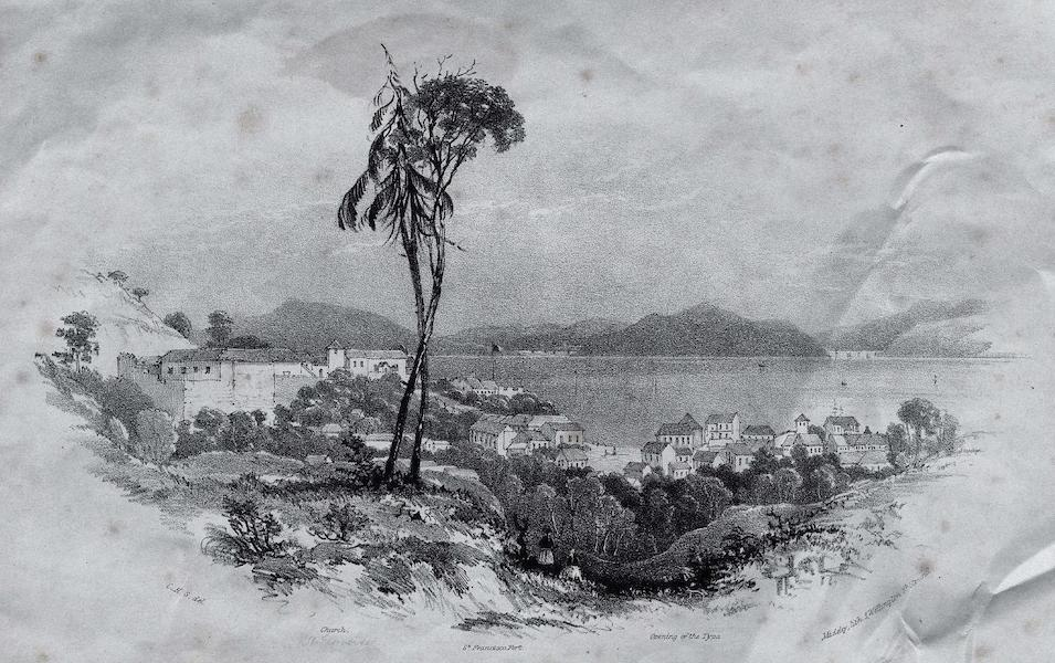 Six Views of Singapore and Macao - Macao (1840)
