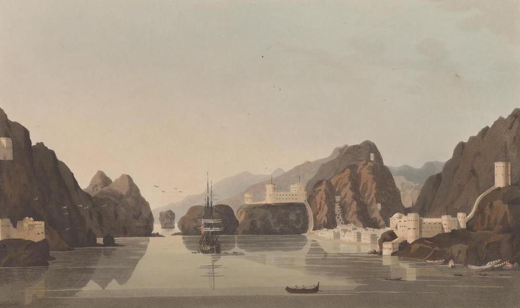 Sixteen Views of Places in the Persian Gulph - Muskat, from the Habour (1813)