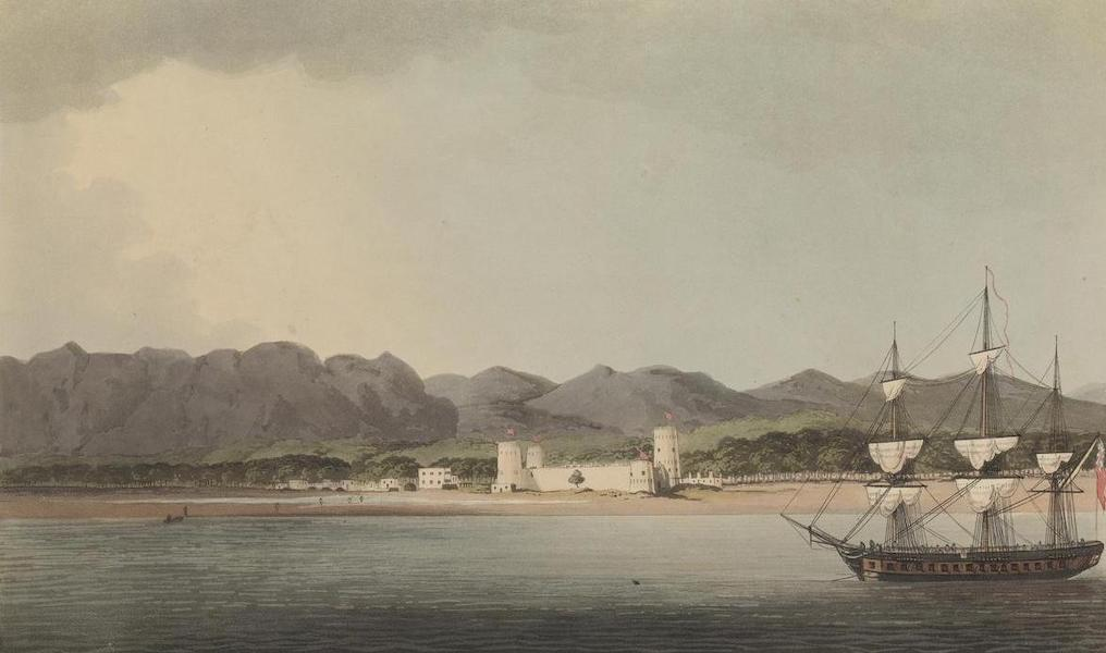 Sixteen Views of Places in the Persian Gulph - Schinaass from the sea (1813)