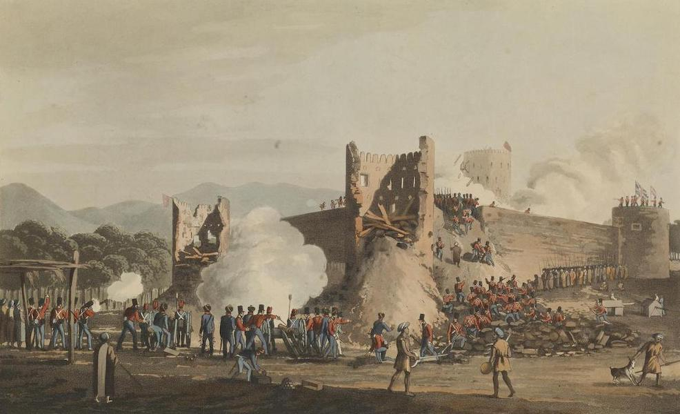 The storming of Schinaass. Jany 3rd 1810.