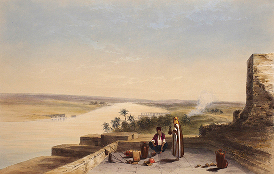 Sketches Between the Persian Gulf and Black Sea - Hit on the Euphrates (1852)