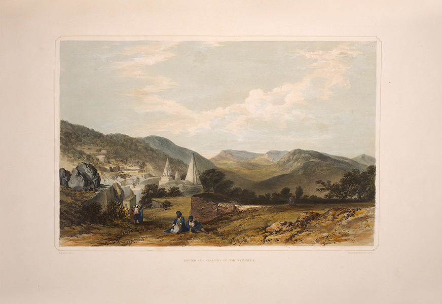 Sketches Between the Persian Gulf and Black Sea - Sheikh Adi, Country of the Yezidees (1852)