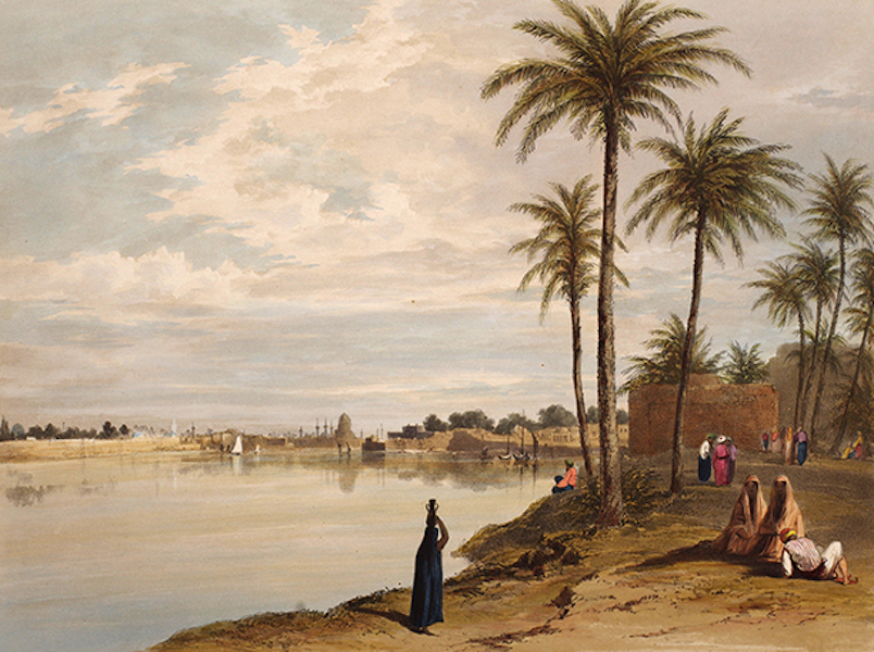 Sketches Between the Persian Gulf and Black Sea - Baghdad (1852)