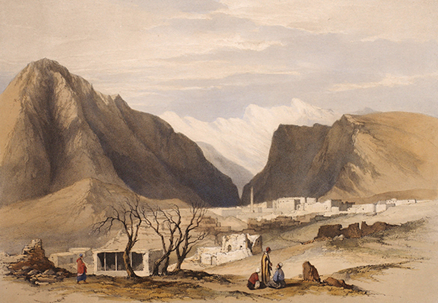 Sketches Between the Persian Gulf and Black Sea - Amadia (1852)