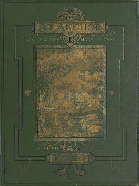Sketches From Many Shores Visited by H.M.S. Challenger - Front Cover (1878)
