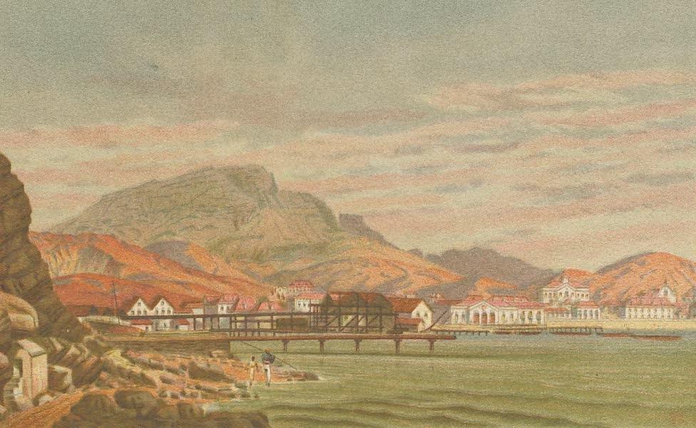 Sketches From Many Shores Visited by H.M.S. Challenger - Porto Grande, St. Vincent, Cape de Verde Islands (1878)