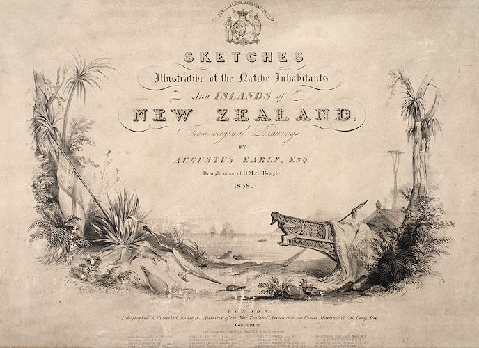 Sketches Illustrative of the Native Inhabitants and Islands of New Zealand