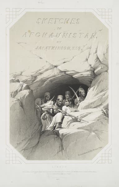 Sketches in Afghaunistan - Title Page (1842)
