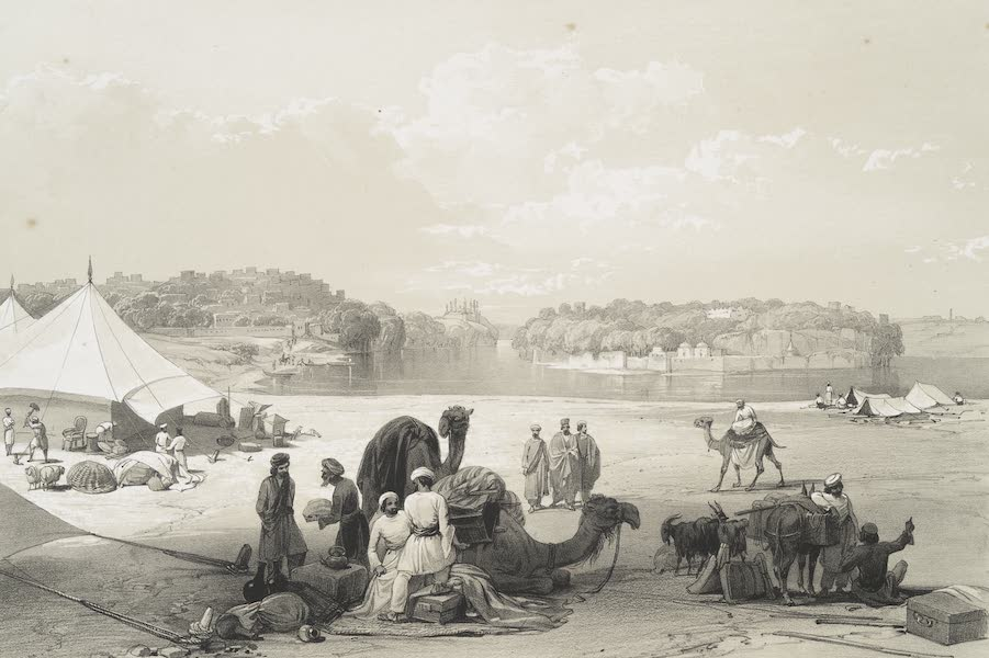 The town of Roree and the fortress of Bukker, on the Indus