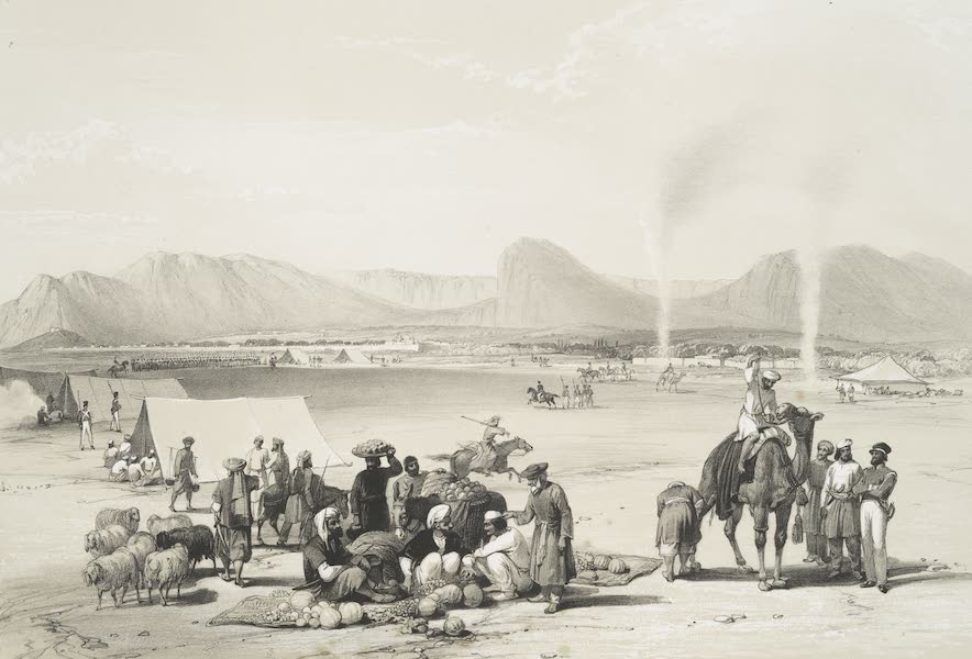 Sketches in Afghaunistan - The city of Candahar (1842)