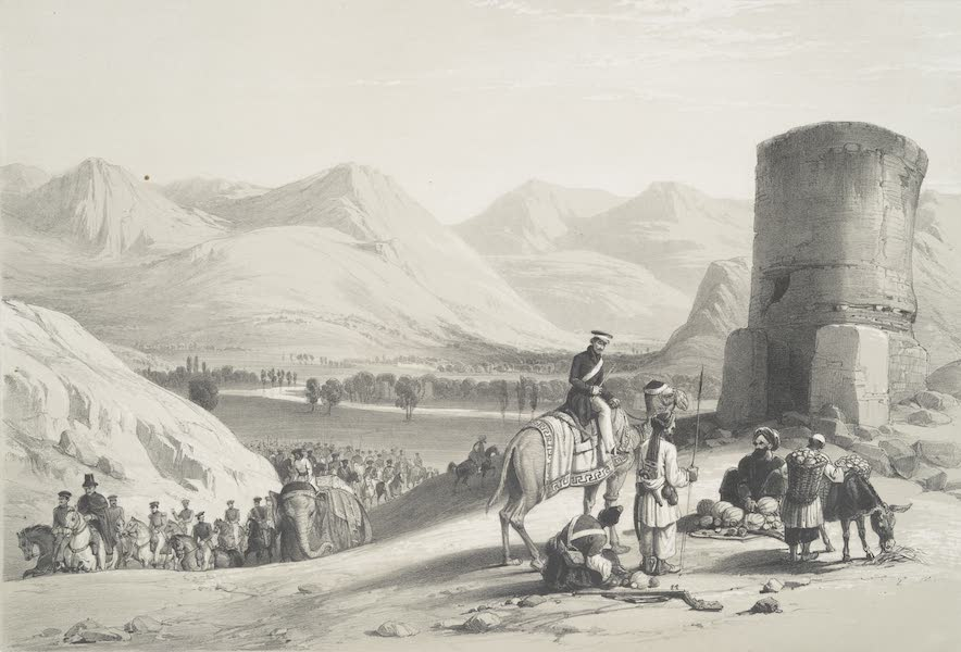 Sketches in Afghaunistan - The Valley of Maidan (1842)