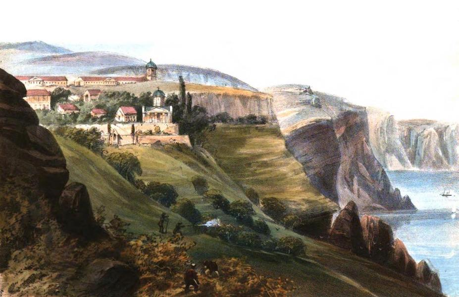 Sketches in the Crimea - Monastery of St. George (1856)