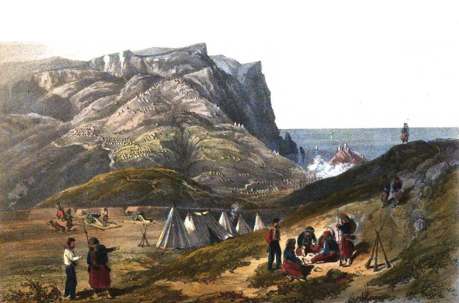 Sketches in the Crimea - Balaklava Heights (1856)