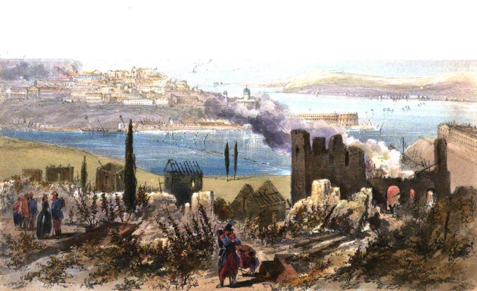 Sketches in the Crimea - The Ruins of Sebastopol (1856)