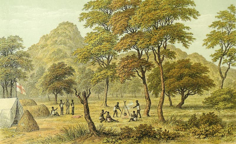 Sketches of African Scenery - C.M.S Camp at Magubika, Usagara (1878)