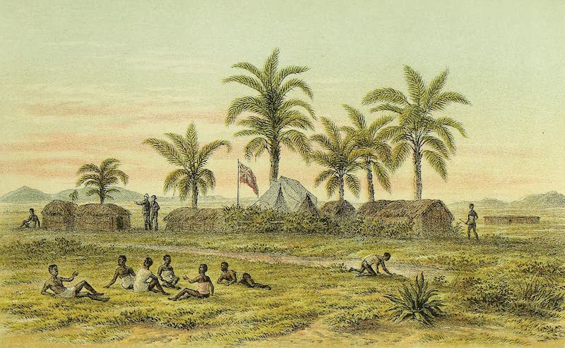 Sketches of African Scenery - C.M.S Camp in Western Ugogo (1878)