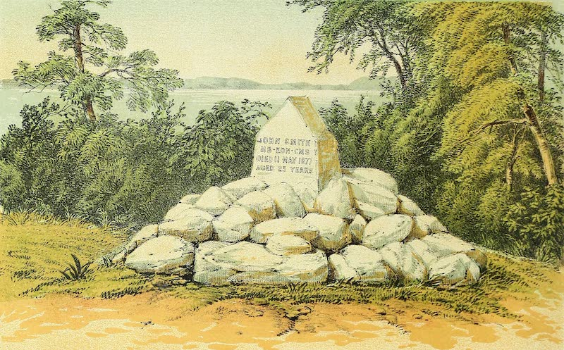 Sketches of African Scenery - Grave of John Smith at Kagei (1878)