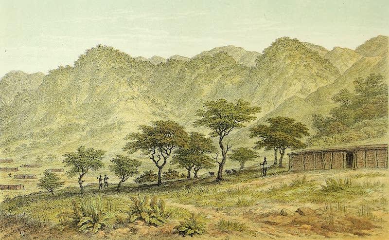 Sketches of African Scenery - Mpwapwa in the Usagara Mountains (1878)