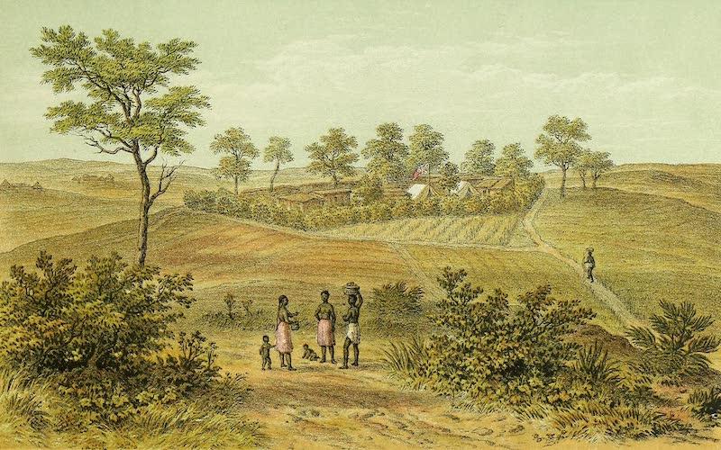 Sketches of African Scenery - Nguru, Capital of Usukuma (1878)