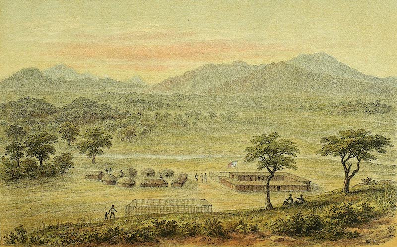 Sketches of African Scenery - View from the C.M.S Station Mpwapwa Looking West (1878)