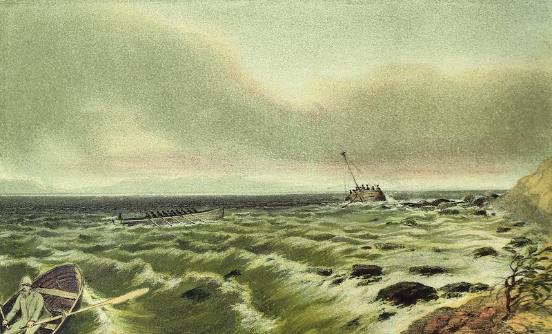 Sketches of African Scenery - Wreck of the Dhow (1878)