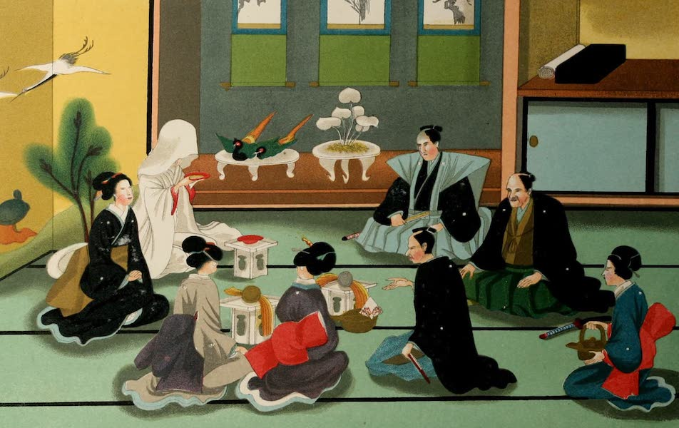 Sketches of Japanese Manners and Customs - A Japanese Wedding (1867)