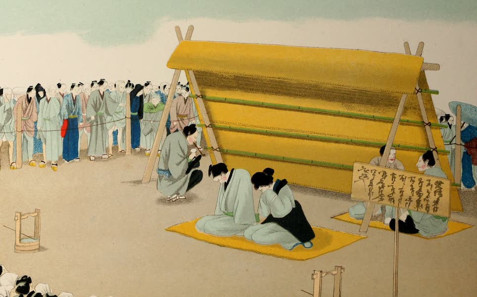 Sketches of Japanese Manners and Customs - Exposure for Infidelity (1867)