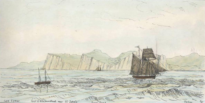Sketches of Newfoundland and Labrador - Cape Spear (1858)