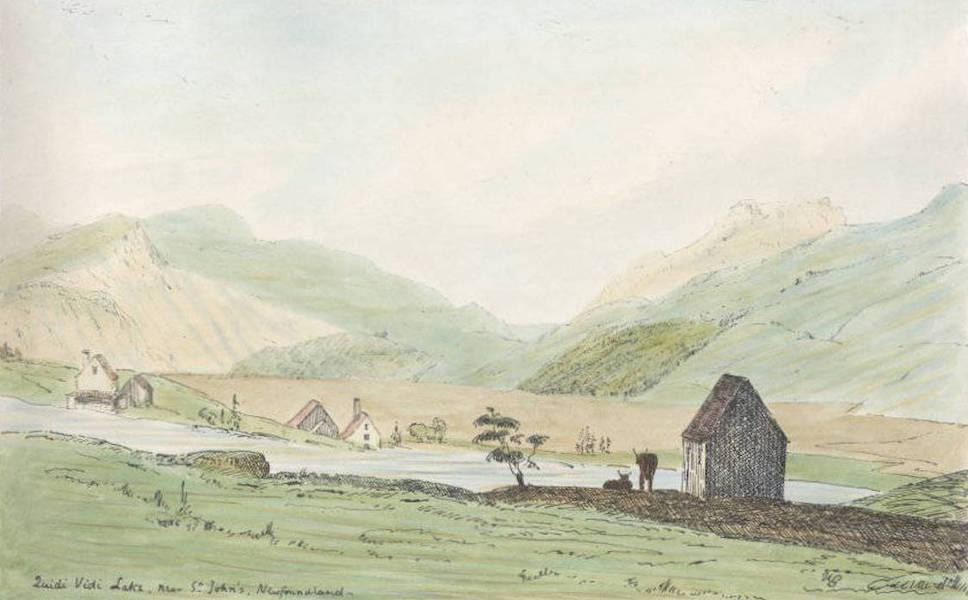 Sketches of Newfoundland and Labrador - Quidi Vidi (1858)