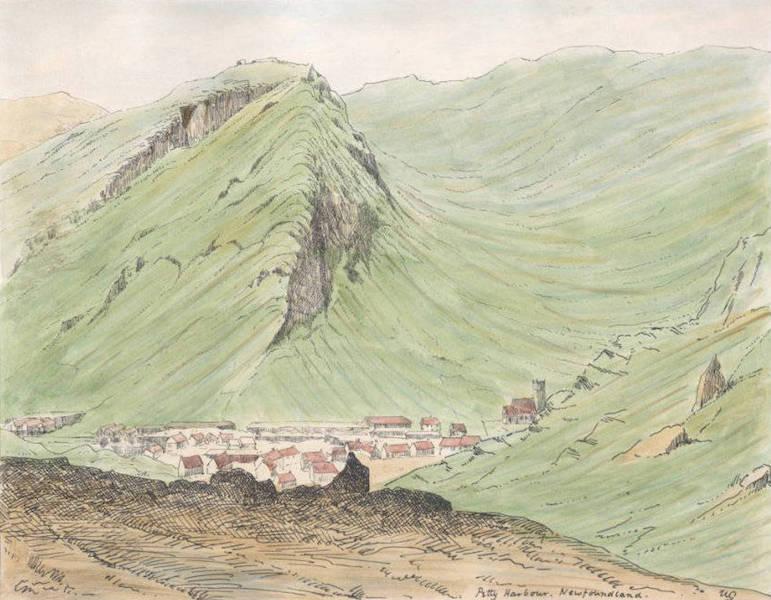 Sketches of Newfoundland and Labrador - Petty Harbour (1858)