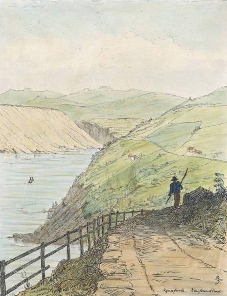 Sketches of Newfoundland and Labrador - Aquaforte (1858)