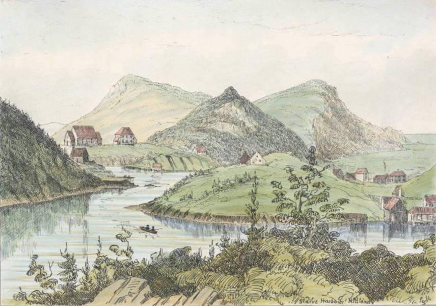 Sketches of Newfoundland and Labrador - Starve Harbour (1858)