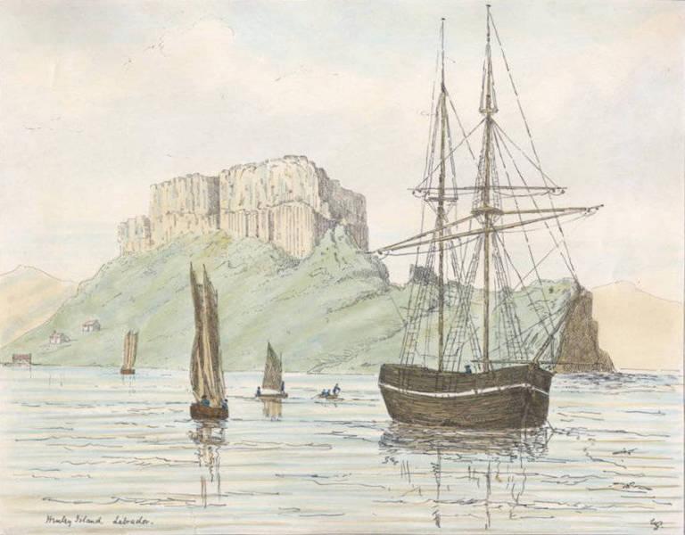 Sketches of Newfoundland and Labrador - Henley Island (1858)