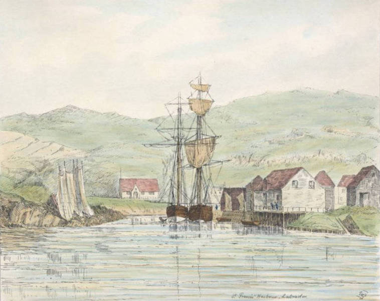 Sketches of Newfoundland and Labrador - St. Francis Harbour (1858)