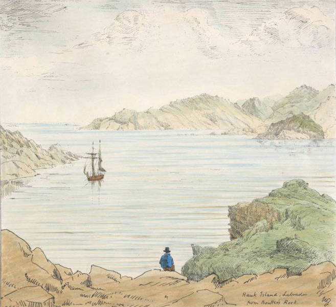 Sketches of Newfoundland and Labrador - Hawk Island (1858)