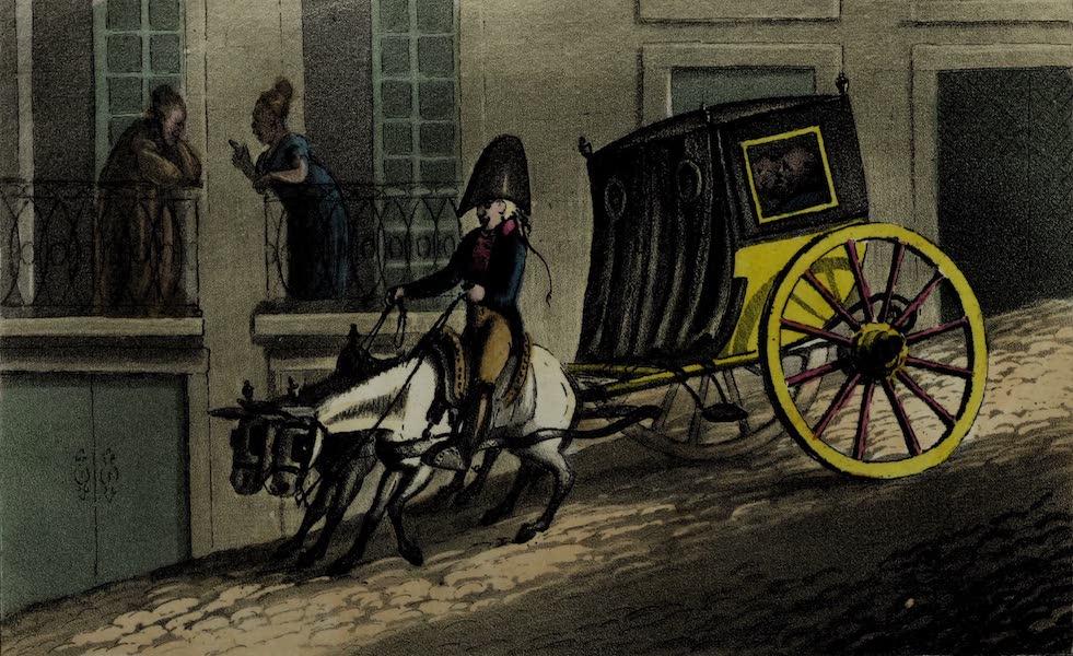 Sketches of Portuguese Life - A Lisbon Chiase (1826)